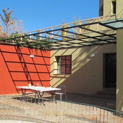 P rgolas madera segovia porches jard n met licos for Autoclave tratado jardin cobertizo