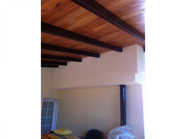construcción cubiertas madera