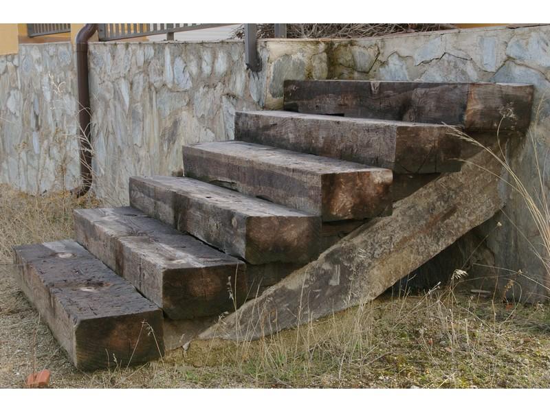 rehabilitación de escaleras de madera